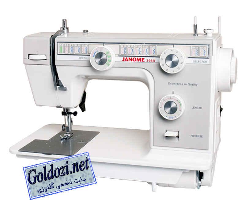 ژانومه مدل 393A,اپلیکه دوزی,طرح های گلدوزی,برودری دوزی,goldozi,embroidery,گلدوزی,goldozi.net