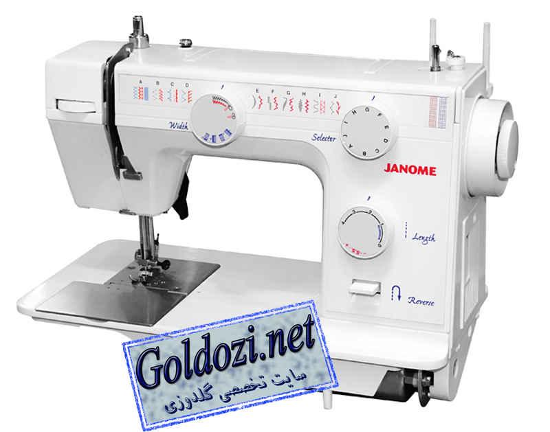 ژانومه مدل 395A,اپلیکه دوزی,طرح های گلدوزی,برودری دوزی,goldozi,embroidery,گلدوزی,goldozi.net