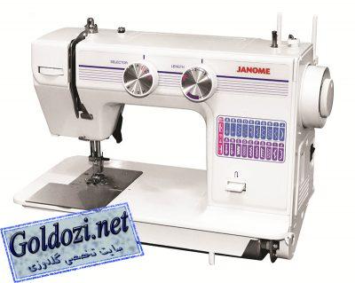 ژانومه مدل 672A,اپلیکه دوزی,طرح های گلدوزی,برودری دوزی,goldozi,embroidery,گلدوزی,goldozi.net