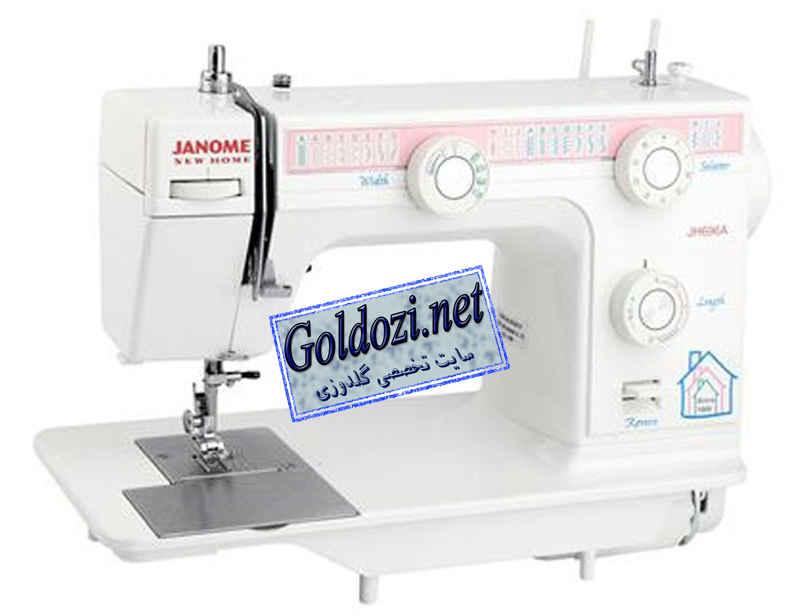 ژانومه مدل 696A,اپلیکه دوزی,طرح های گلدوزی,برودری دوزی,goldozi,embroidery,گلدوزی,goldozi.net