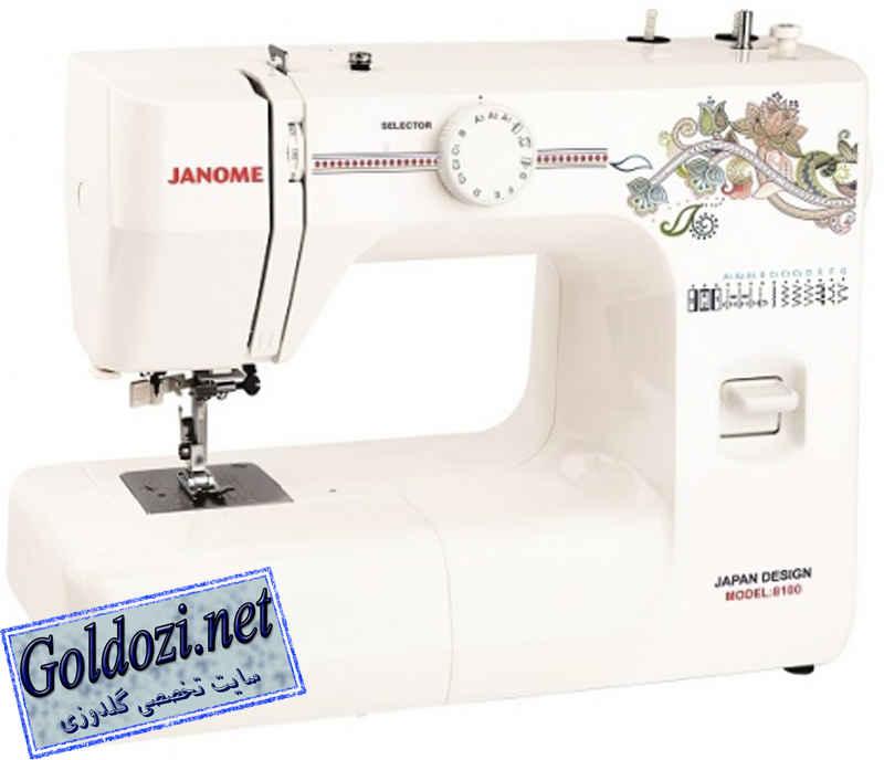 ژانومه مدل 8100,اپلیکه دوزی,طرح های گلدوزی,برودری دوزی,goldozi,embroidery,گلدوزی,goldozi.net