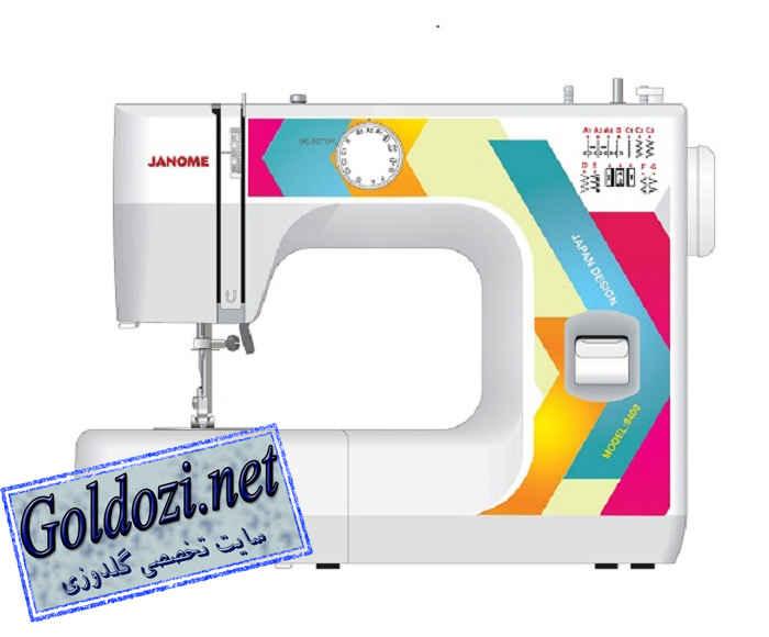 ژانومه مدل 8400,اپلیکه دوزی,طرح های گلدوزی,برودری دوزی,goldozi,embroidery,گلدوزی,goldozi.net