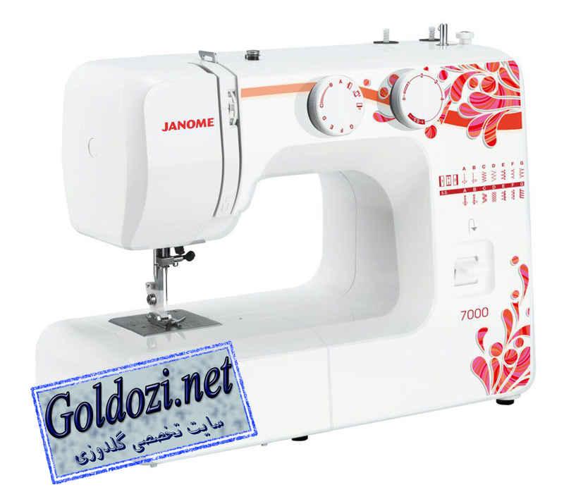 ژانومه مدل7000,اپلیکه دوزی,طرح های گلدوزی,برودری دوزی,goldozi,embroidery,گلدوزی,goldozi.net