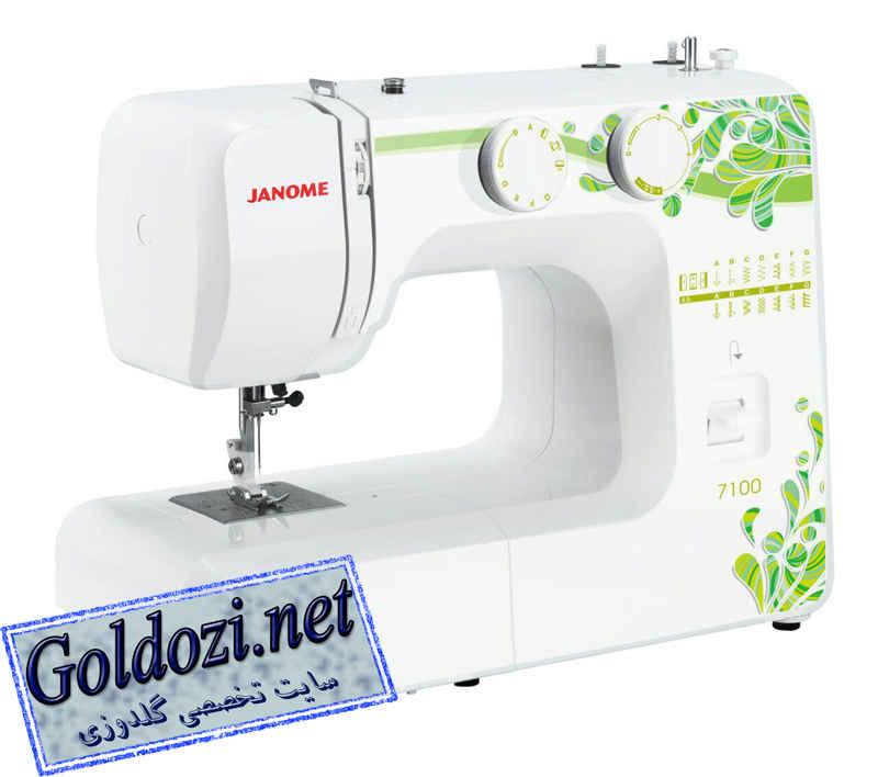 ژانومه مدل7100,اپلیکه دوزی,طرح های گلدوزی,برودری دوزی,goldozi,embroidery,گلدوزی,goldozi.net
