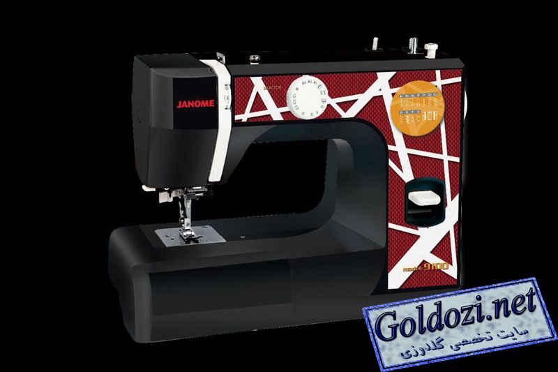 ژانومه مدل9100,اپلیکه دوزی,طرح های گلدوزی,برودری دوزی,goldozi,embroidery,گلدوزی,goldozi.net