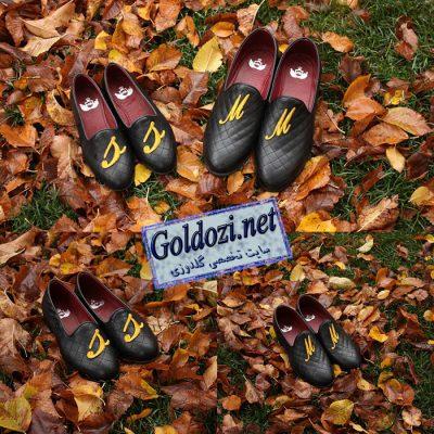 کفش گلدوزی شده